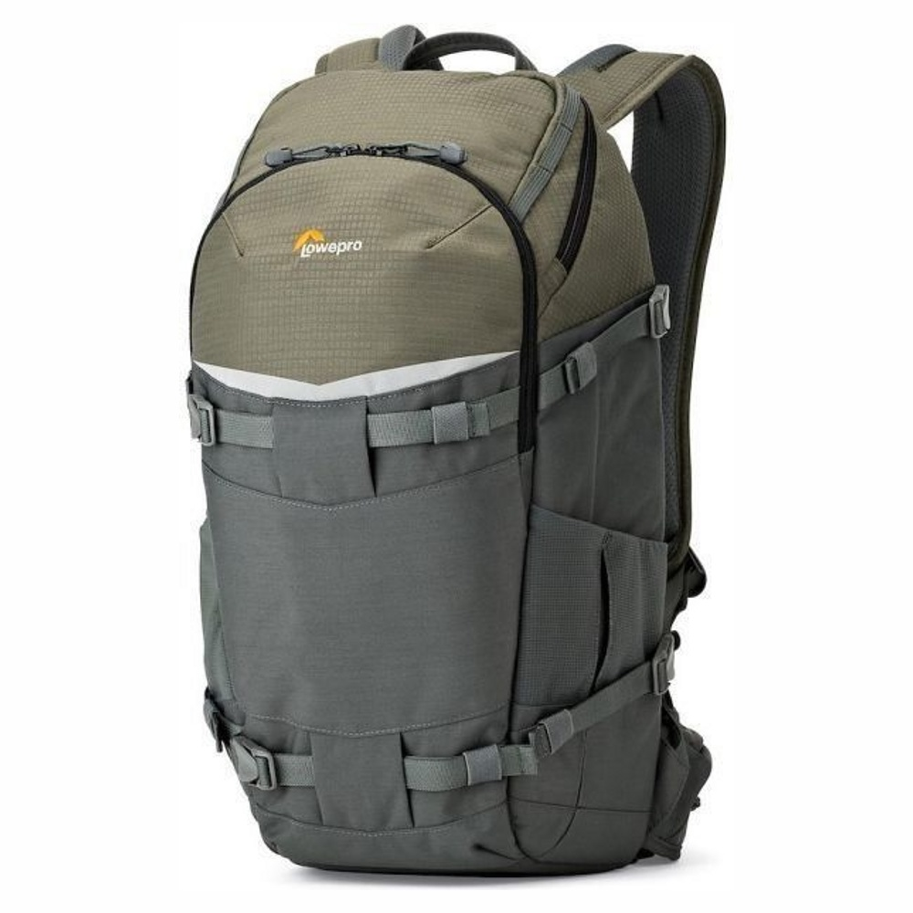 Рюкзак для фотоаппарата / видеокамер LowePro Flipside Trek BP 350 Grey-Dark Green