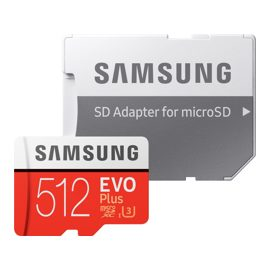 Карта памяти microSDXC 512Gb Samsung EVO Plus V2 (MB-MC512GARU)